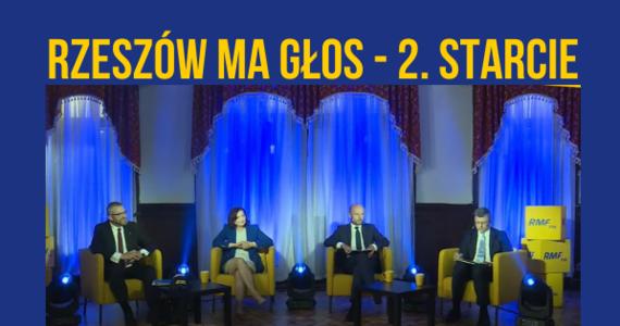 """Za nami druga odsłona debaty przed wyborami prezydenta Rzeszowa: """"Rzeszów ma głos – 2. starcie"""". Wzięli w niej udział wszyscy kandydaci na włodarza stolicy Podkarpacia. Znaleźli się nie tylko w ogniu pytań dziennikarzy RMF FM - zmierzyli się też z pytaniami naszych słuchaczy i internautów. Debata była transmitowana na żywo w RMF FM, na RMF24 i w naszym nowym internetowym radiu informacyjnym RMF24.pl!"""