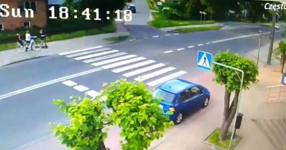 Kierowca, który w Rędzinach w Śląskiem na przejściu dla pieszych o mało nie rozjechał 4 osób, był już karany za spowodowanie śmiertelnego wypadku. Mężczyzna usłyszał już prokuratorskie zarzuty za niedzielną jazdę. Sąd zdecydował dziś również o areszcie dla mężczyzny.