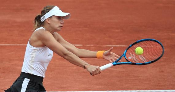 """Magda Linette zakończyła udział w French Open debiutanckim występem w wielkoszlemowym półfinale debla. """"Po bardzo trudnym okresie w karierze, to było coś nowego, fajnego"""" - podkreśliła. """"Cieszę się, że w końcu udało mi się wrócić na lepsze tory"""" – zauważyła."""