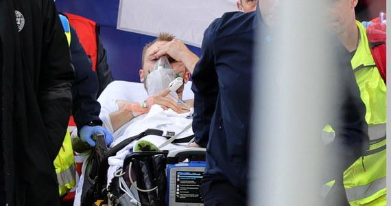 """Christians Eriksen nadal przebywa w szpitalu w Kopenhadze. """"Czuję się świetnie"""" – napisał do kolegów z włoskiego klubu Inter Mediolan na Whatsappie. W sobotę duński piłkarz w trakcie meczu z Finlandią stracił przytomność i upadł na murawę. Jak później przekazano, 29-latek miał zawał serca."""