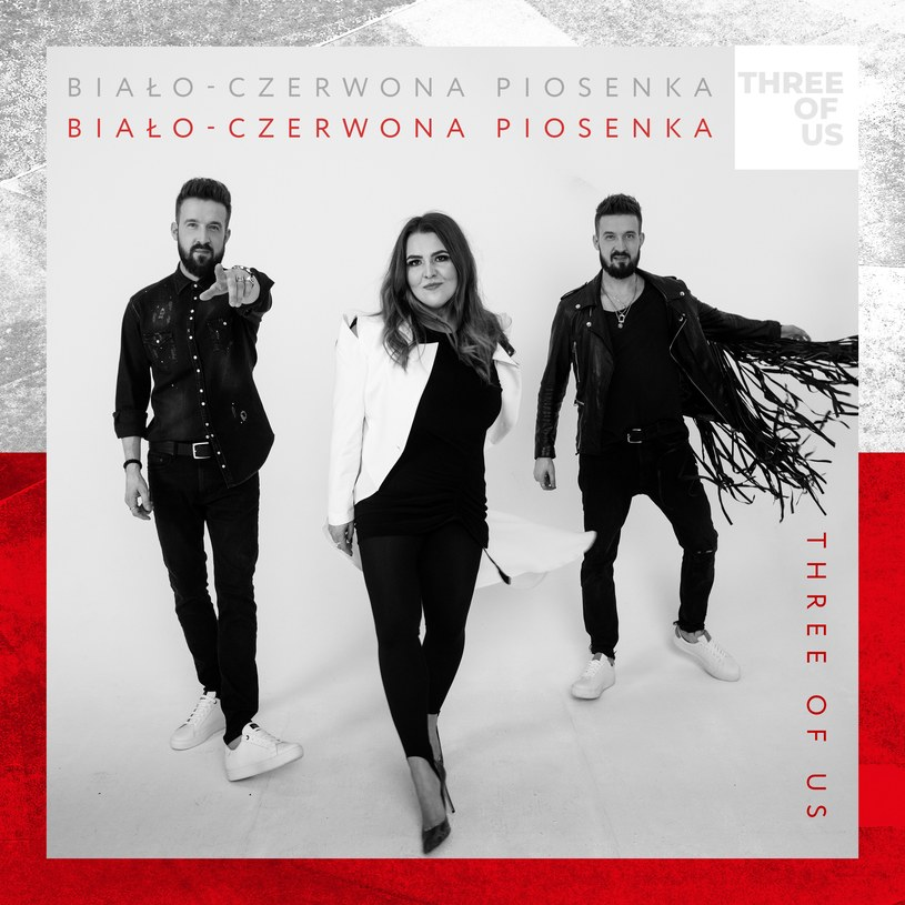 """""""Biało-czerwona piosenka"""" w wykonaniu grupy Three Of Us powstała wraz ze słuchaczami RMF FM, by wspierać polską drużynę na trwającym Euro 2020."""