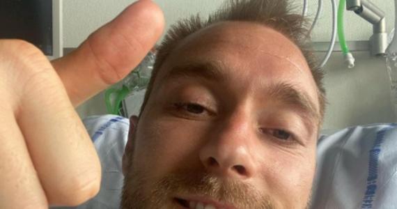 """""""Będę kibicował duńskim chłopakom"""" – Christian Eriksen w poście na Instragramie dziękuje za wsparcie i obiecuje trzymać kciuki za swoich kolegów w czasie nadchodzących spotkań. Serce reprezentanta Danii stanęło na Euro 2020 podczas sobotniego meczu w Finlandią. Piłkarz przebywa w szpitalu w Kopenhadze."""