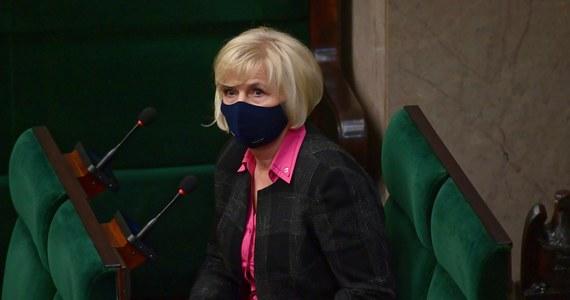 Sejm poparł kandydaturę senator Lidii Staroń na Rzecznika Praw Obywatelskich. To już kolejna, piąta próba wyboru następcy Adama Bodnara. Teraz kandydaturę Staroń będzie musiał poprzeć Senat.