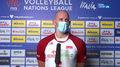 Liga Narodów siatkarzy. Bartosz Kurek: Decydujące było nasze nastawienie (POLSAT SPORT) Wideo