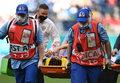 Finlandia - Rosja. Mario Fernandes hospitalizowany z podejrzeniem uszkodzenia kręgosłupa