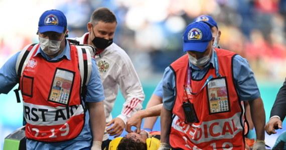 """Piłkarze reprezentacji Rosji odnieśli pierwsze zwycięstwo w trwających mistrzostwach Europy. Niestety w trakcie spotkania urazu rdzenia kręgowego doznał Mario Fernandes. Piłkarz """"Sbornej"""" trafił do szpitala."""