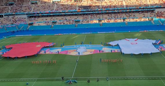 Hiszpania - Polska. Ceremonia poprzedzająca mecz na stadionie w Sewilli. Wideo