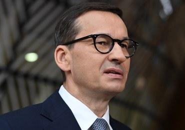 Morawiecki przed szczytem UE: Będę wskazywał na politykę Rosji w kontekście cyberataków