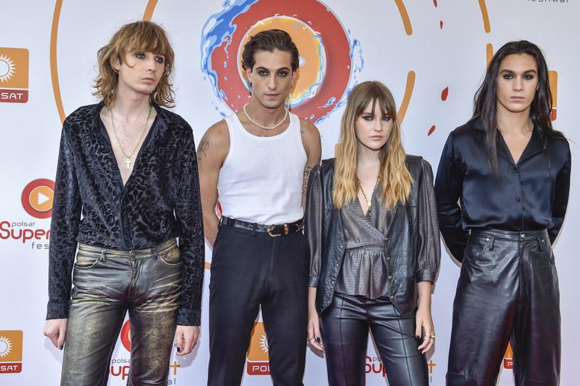 """Maneskin, włoski zespół, który wygrał Eurowizję 2021, stworzył własną, rockową wersję piosenki Billie Eilish """"Bury a Friend""""."""