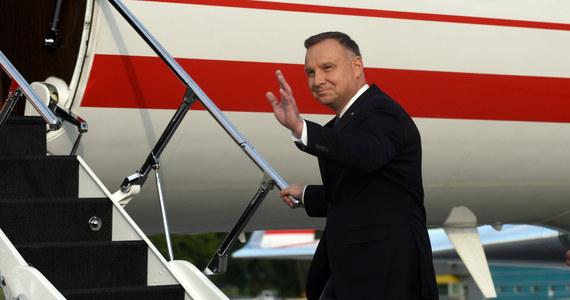 Interia w Tokio. Prezydent Andrzej Duda gościem specjalnym na pokładzie