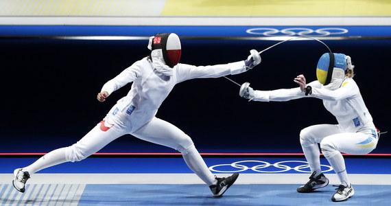 Renata Knapik-Miazga przegrała z reprezentantką Hongkongu Man Wai Vivian Kong 8:15 i odpadła w 1/8 finału olimpijskiego turnieju szpadzistek w Tokio. Wcześniej wyeliminowane zostały Aleksandra Jarecka i Ewa Trzebińska.