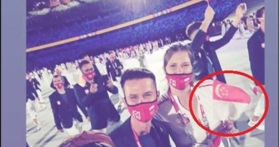 Maja Włoszczowska i Paweł Korzeniowski poprowadzili polską reprezentację podczas defilady w trakcie ceremonii otwarcia igrzysk olimpijskich w Tokio. Uwagę widzów oprócz chorążych przykuła Małgorzata Cybulska. Dlaczego? W przeciwieństwie to pozostałych reprezentantów Cybulska wymachiwała flagą Singapuru.