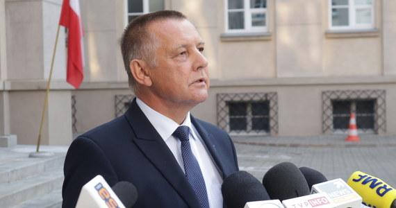Nie będziemy głosować za uchyleniem immunitetu prezesowi NIK Marianowi Banasiowi, dlatego że osądzenie go dzisiaj byłoby zwykłym procesem politycznym - poinformowała posłanka koła parlamentarnego Polska 2050 Joanna Mucha.