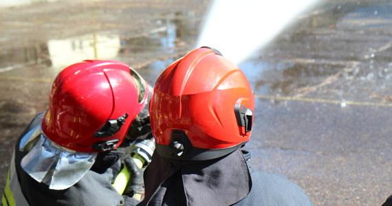 Strażakom z ponad 20 jednostek udało się opanować pożar hałdy odpadów na miejskim wysypisku w miejscowości Ruda koło Wielunia (Łódzkie). Dogaszanie ognia potrwa jednak jeszcze co najmniej kilka godzin.