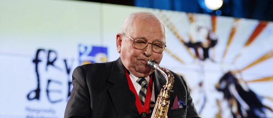 """Zmarł Jerzy """"Duduś"""" Matuszkiewicz - jeden z najważniejszych muzyków na polskiej scenie jazzowej i kompozytor muzyki do wielu kultowych filmów i seriali. Miał 93 lata."""
