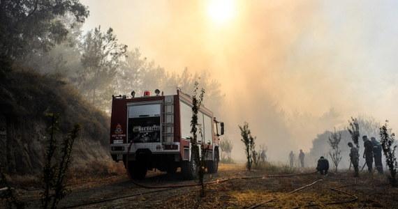 Fala rekordowych upałów przekraczających 40 stopni Celsjusza od ponad tygodnia utrzymuje się w Grecji. Synoptycy ostrzegają, że ze względu na typowe o tej porze roku silne wiatry ryzyko wystąpienia niszczycielskich pożarów utrzyma się nawet po zapowiadanym na weekend nieznacznym ochłodzeniu.