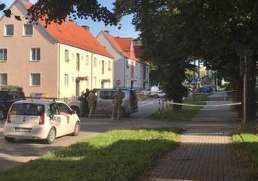 Wysadzony bankomat w Elblągu. Poszukiwania sprawcy
