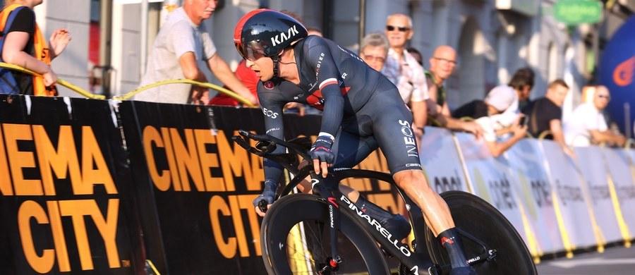 Michał Kwiatkowski (Ineos Grenadiers) zajął piąte miejsce na szóstym etapie wyścigu kolarskiego Tour de Pologne, jeździe indywidualnej na czas w Katowicach. Polak awansował na trzecią pozycję w klasyfikacji generalnej