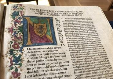 """We Wrocławiu można zobaczyć pierwsze ilustrowane wydanie """"Boskiej komedii"""". Ma ponad 500 lat"""