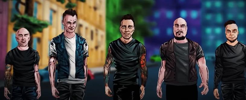 """Polski zespół Nocny Kochanek nagrał własną wersję przeboju Guns N' Roses """"Nightrain"""". Teraz stworzyli teledysk, którym promują nadchodzący album """"Stosunki międzynarodowe""""."""