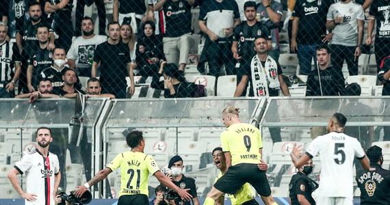 Besiktas JK przegrał z Borussią Dortmund w 1. kolejce fazy grupowej Ligi Mistrzów - Sport w INTERIA.PL
