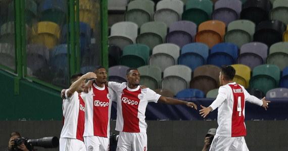 Liga Mistrzów. Sporting - Ajax. Sebastien Haller jak Marco van Basten