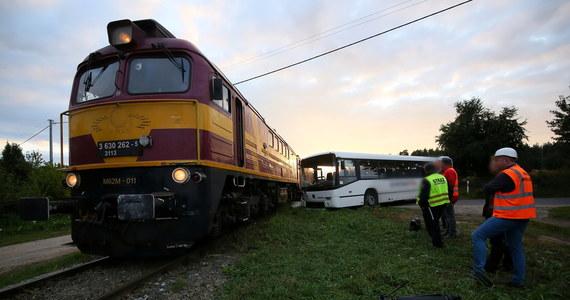 Cztery osoby, w tym dzieci, zostały poszkodowane po zdarzeniu pociągu towarowego z autobusem na niestrzeżonym przejeździe kolejowym w miejscowości Turkowy w woj. wielkopolskim.