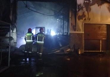 Wielki pożar w Bartnikach. Zginęło prawie 150 sztuk bydła