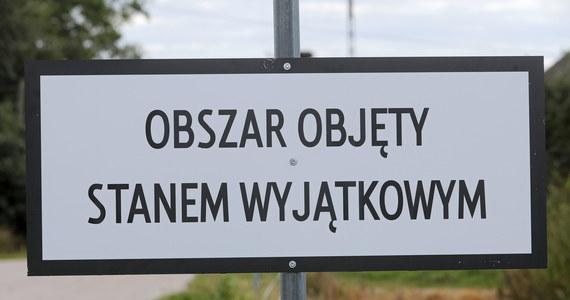 Dopiero w przyszłym tygodniu rząd podejmie decyzję ws. przedłużenia stanu wyjątkowego w przygranicznym pasie z Białorusią. Jest niemal pewne, że potrwa on kolejne 60 dni.