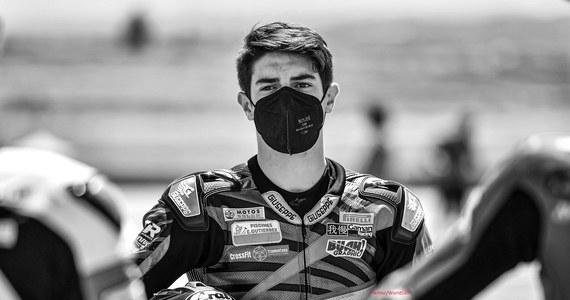 Tragiczny wypadek na torze w Jerez de la Frontera w Hiszpanii. Nie żyje 15-letni motocyklista Dean Berta Vinales.