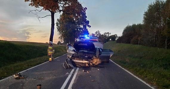 Dwie kobiety zginęły w wypadku na drodze koło Barczewa w woj. warmińsko-mazurskim. Trwa ustalanie przyczyn zdarzenia.