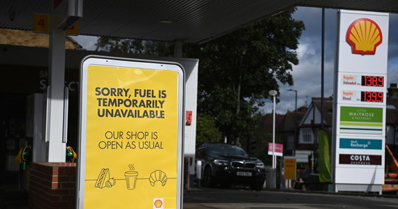Brytyjski rząd wezwał wojsko do gotowości na wypadek konieczności udzielenia pomocy w rozwiązaniu kryzysu paliwowego w kraju - poinformowało ministerstwo energii Wielkiej Brytanii.