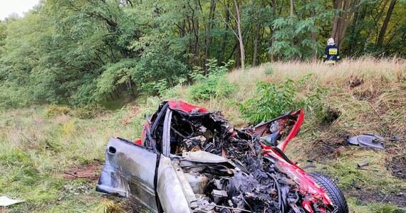 27-latka i dwoje jej dzieci w wieku 5 i 7 lat zostali ranni w wypadku na niestrzeżonym przejeździe z sygnalizacją świetlną w Motylewie, w pow. gorzowskim. Auto staneło w płomieniach, matce jednak udało się z niego wyciągnąć dzieci.