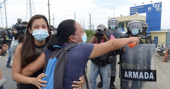 W krwawych zamieszkach, do jakich doszło w więzieniu w prowincji Guayas, zginęło 24 więźniów, a 48 odniosło rany - poinformowały władze Ekwadoru. To już trzecie takie rozruchy, do jakich doszło w tym roku w ekwadorskich więzieniach.