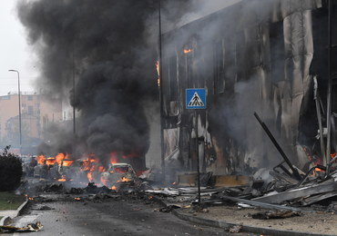 Samolot uderzył w budynek w Mediolanie. Wśród ofiar rumuński miliarder