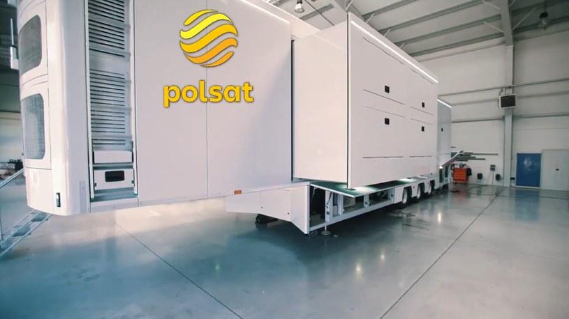 Jeszcze w tym roku do floty produkcyjnej Telewizji Polsat dołączy ekologiczny najnowocześniejszy na świecie wóz transmisyjny, który będzie wykorzystywał technologie IP do produkcji i przesyłu sygnału w niesamowitej jakości 4K HDR.