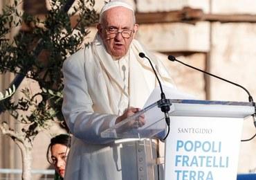 Papież zmienia swój plan podróży. Nie pojedzie na szczyt klimatyczny