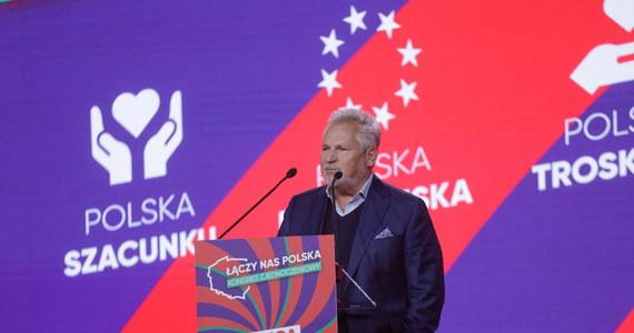 """""""Mam nadzieję, że Polki i Polacy będą mogli z przekonaniem w przyszłości głosować na mądrą, wiarygodną, kompetentną, europejską, dobrze zorganizowaną i odpowiedzialną Lewicę"""" - mówił na kongresie zjednoczeniowym Nowej Lewicy były prezydent Aleksander Kwaśniewski. """"Myślę, że z waszego kongresu musi wyjść jasne, zdecydowane przesłanie, że są nieprzekraczalne, czerwone linie i te czerwone linie w pierwszej kolejności dotyczą PiS-u"""" - ocenił."""
