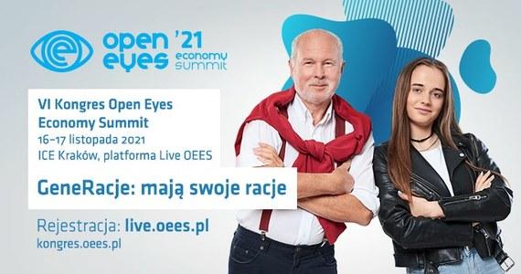 16 i 17 listopada w Centrum Kongresowym ICE Kraków odbędzie się szósta edycja Open Eyes Economy Summit - Międzynarodowego Kongresu Ekonomii Wartości. Jeden z największych i najbardziej nietypowych kongresów w Polsce po raz kolejny przyciągnie do Krakowa znane autorytety z życia społecznego oraz zgromadzi międzynarodową widownię, która - podobnie jak w ubiegłym roku - będzie mogła uczestniczyć w wydarzeniu dzięki wirtualnej platformie streamingowej.