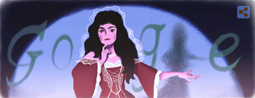 Najnowsze Google Doodle upamiętnia słynną polską aktorkę Helenę Modrzejewską. We wtorek mija 181 lat od jej narodzin.