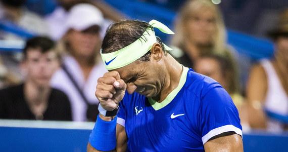 """""""Nie wiem, kiedy wrócę do gry"""" - przyznał zmagający się z kontuzją stopy tenisista Rafael Nadal. """"Ciężko pracuję każdego dnia, postępuję według szczegółowego planu"""" - powiedział triumfator 20 imprez wielkoszlemowych."""