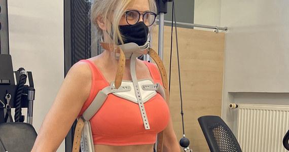 Sylwia Wysocka podczas rehabilitacji. Zdjęcia obiegły sieć