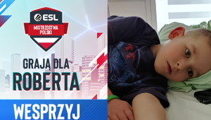 Piękna inicjatywa ESL! 8. kolejka Mistrzostw Polski dedykowana choremu chłopcu