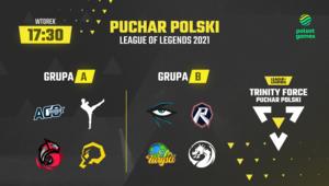 Trinity Force Puchar Polski w League of Legends 2021 wystartuje 26 października