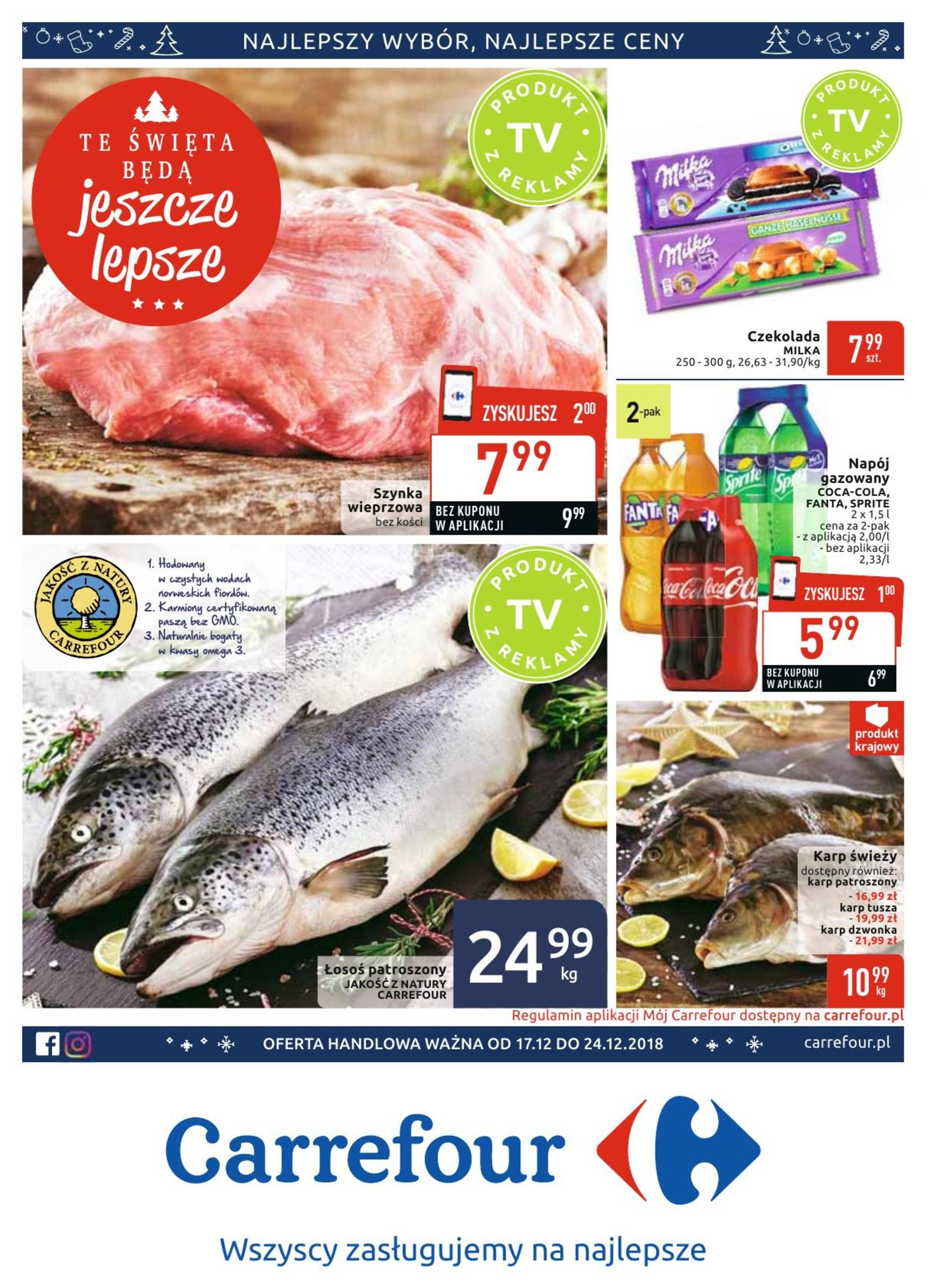 Gazetka Carrefour - gazetka-promocyjna-carrefour-17-12-2018,37471, strona 1, ważna od 2018-12-17 do 2018-12-24