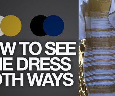 3844a36f9cfa How to see The Dress BOTH ways (Black   Blue or White   Gold)