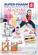 Gazetka promocyjna Super-Pharm - Akademia formy - ważna do 18-04-2018