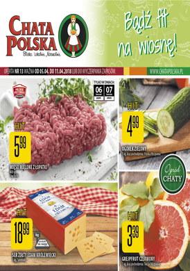 Gazetka promocyjna Chata Polska - Bądź fit na wiosnę!