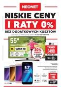 Gazetka promocyjna Neonet - Niskie ceny i raty 0% - ważna do 18-04-2018