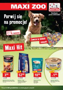 Gazetka promocyjna Maxi Zoo, ważna od 04.04.2018 do 10.04.2018.